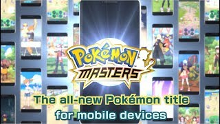 Pokémon Masters is available now!