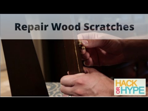 Hack or Hype: How to Repair Scratches on Wood Furniture