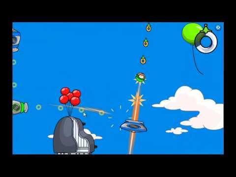 Club Penguin - Puffle Launch Blue Sky Level 3