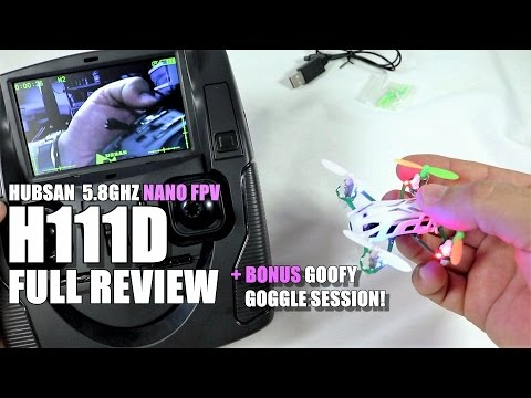HUBSAN H111D Full Review - Nano 5.8ghz FPV - [UnBox, Inspection, Setup & FLIGHT TEST]