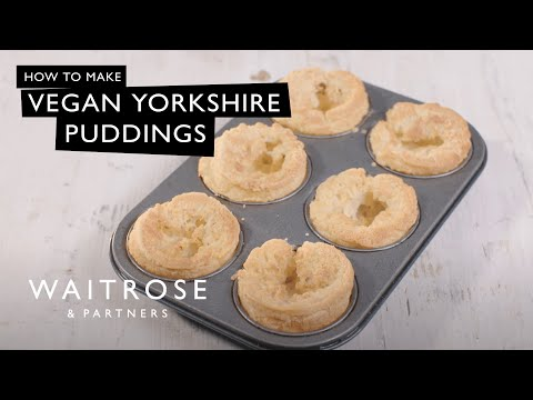 Vegan Yorkshire Puddings | Waitrose