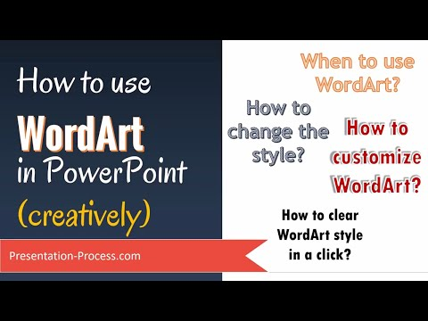How to use WordArt in PowerPoint (creatively)