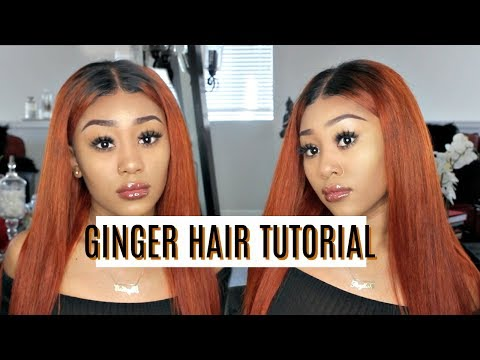 HOW-TO: BURNT ORANGE/GINGER HAIR DYEING TUTORIAL | Julia Hair Malaysian Body Wave