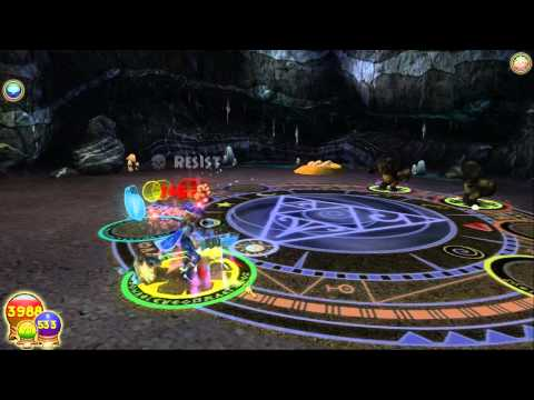 Wizard101 - Mammoth Quest (Level 78 Ice Wizard Pet)