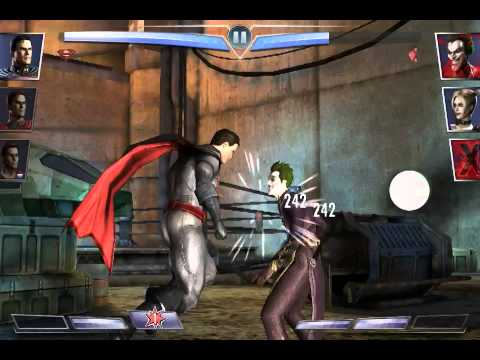 Derrotemos a superman de la prisión!\ injustice