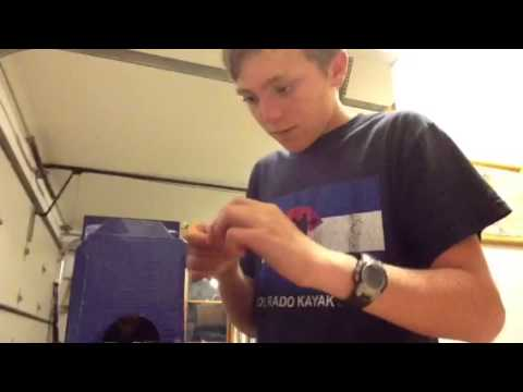 Fly Tying: tying flies with common household items