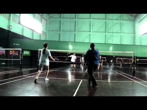 @my house badminton court
