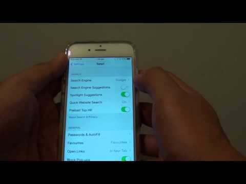 iPhone 6: How to Enable / Disable Safari Search Engine Suggestions