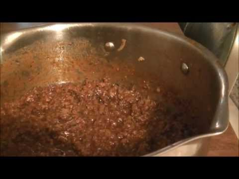 A How To Recipe for Making Roanoke, VA Weiner Stand Chili or a Coney Island/Greek Chili