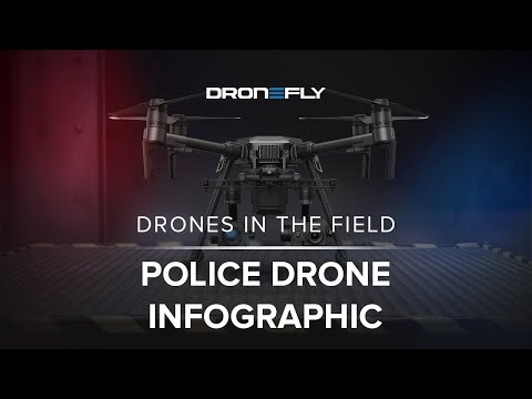Police Drone Infographic from Dronefly