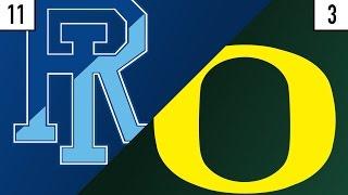 11 Rhode Island vs. 3 Oregon Prediction | Who