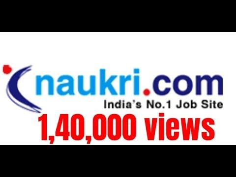 How to register on naukri com & get free alert,नौकरी.com full video (हिंदी )