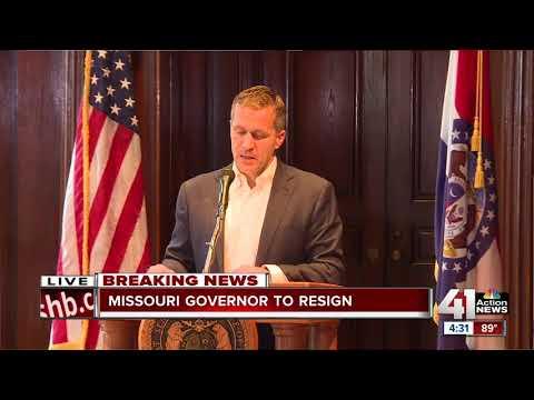 Gov. Greitens announces resignation