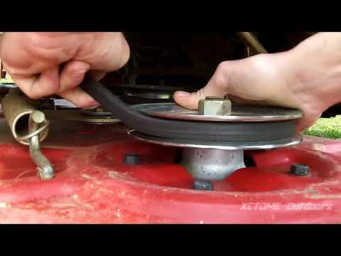 Toro Timecutter SS4260 42in Zero Turn Mower Deck Belt Replacement
