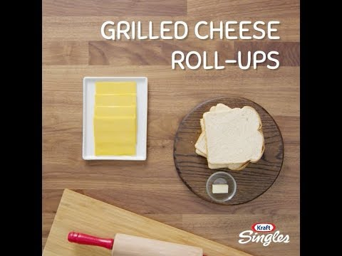 Grilled Cheese Roll-Ups