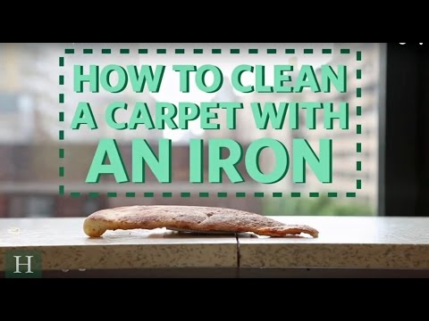 How To Clean A Carpet With An Iron