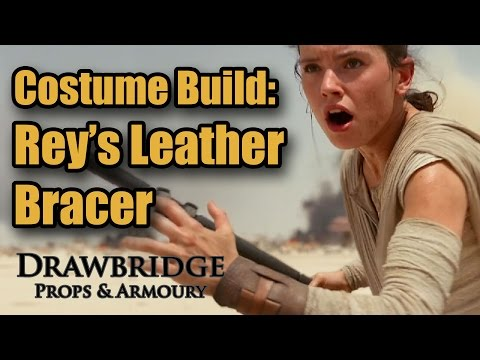 How to make Rey's Leather Bracer: Star Wars Costume Build
