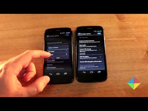 Android 4.4.2 KitKat en Moto G (versus 4.3)
