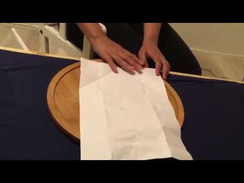 How to make an easy envelope out of A4 printer paper