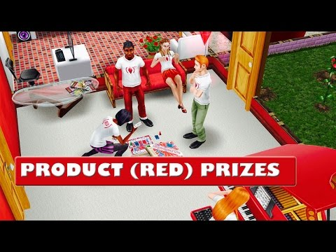 SIMS FREEPLAY PROUCT (RED) PRIZES
