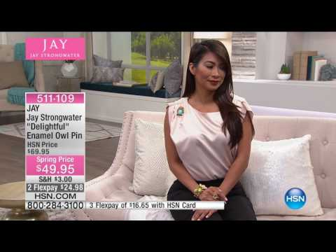 HSN | JAY by Jay Strongwater Jewelry 04.25.2017 - 04 PM
