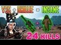 VSS is INSANE - Shroud 24 kills solo FPP [Apr-29] - PUBG HIGHLIGHTS TOP 1 #96