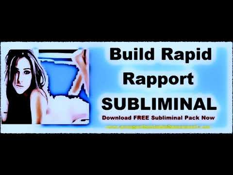 Build Instant Rapport With Anyone - Subliminal Affirmations Audio