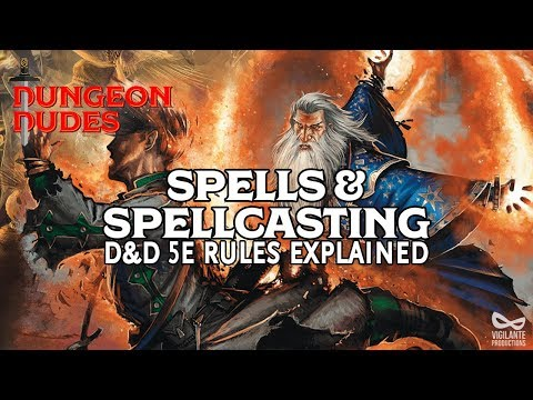Spells and Spellcasting Guide for Dungeons and Dragons 5e