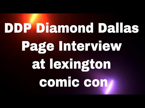 DDP Diamond Dallas Page Interview at lexington comic con