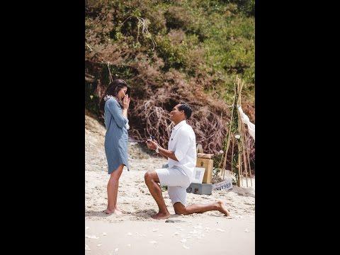 The BEST Beach Wedding Proposal Video