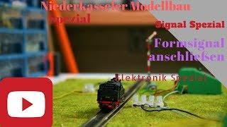 Spezial  Elektronik Signale in der Modellbahn Modulanlage Signale für die Modelleisenbahn Anlage
