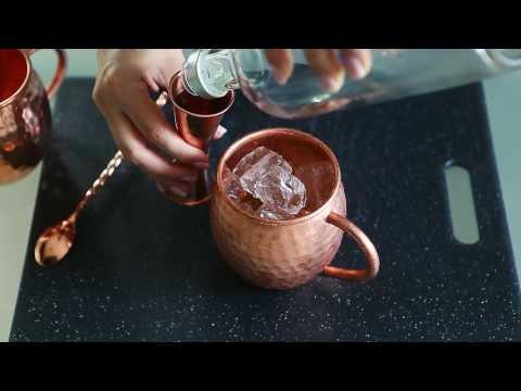 Crafty Mule - Classic Moscow Mule recipe