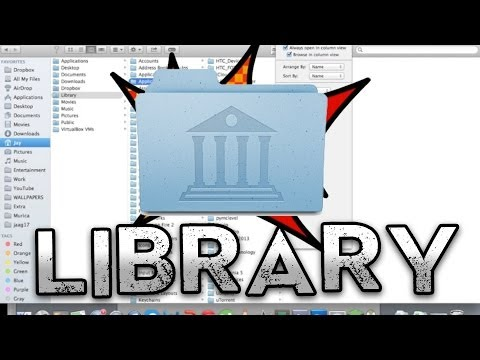 How to EASILY get the Library folder on Mac (2015)