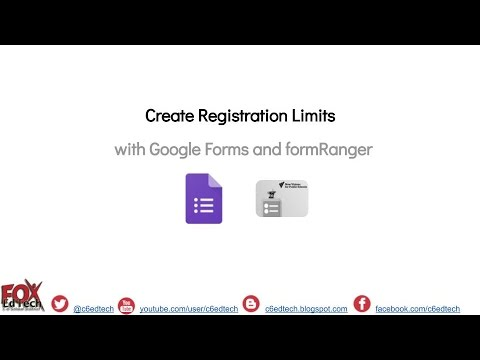 Use formRanger to Limit Multiple Choice Responses in a Google Form