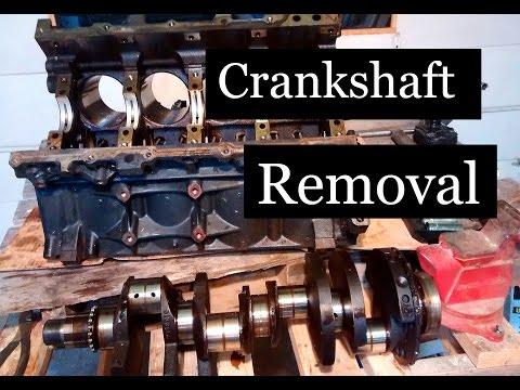 LS Crankshaft Removal - Iorn LS build #4