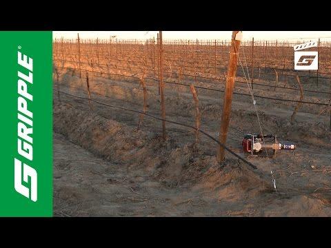 Vineyard Trellis Anchoring and Bracing - Product Focus