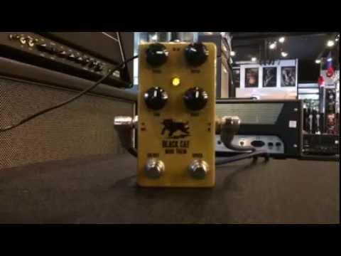 Strings Shop Review : Black Cat Mini Trem Tremolo