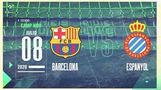 EN VIVO: Barcelona vs Espanyol, Liga española, fecha 35