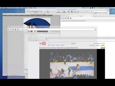 Google Chrome (OS X) flickering transparent tabs bug