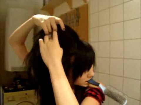 How to do VERY BIG Emo Scene Hair