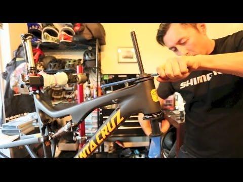 Bikeskills: Santa Cruz Bronson Build and First Ride