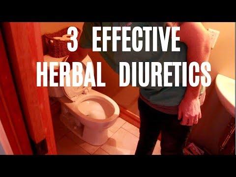 3 Effective Herbal Diuretics