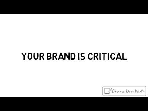 YOUR BRAND IS CRITICAL | Debra Wheatman