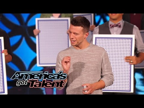 Mat Franco: Mind-Blowing Performance From Last Magician Standing - America's Got Talent 2014 Finale