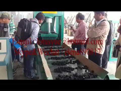 hydraulic pressure shisha charcoal machine