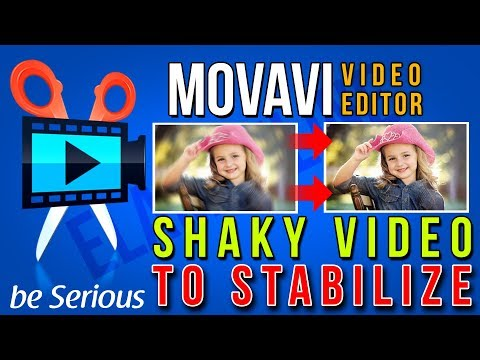 Shaky Video To Stabilize Video Footage Just Single Click | Movavi Video Editor Stabilization Feature
