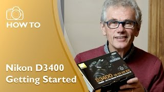 Getting started with the Nikon D3400