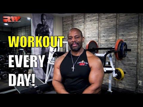Lift Weights Daily!     [ Summer Shredding Principle #2 ]