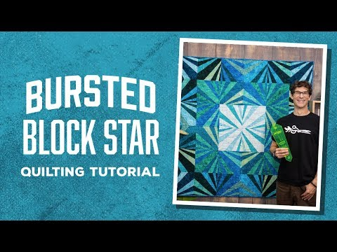 Make a Bursted Block Star Quilt with Rob!