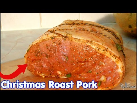 Christmas Roast Pork (Jamaican Cooking) | Recipes By Chef Ricardo